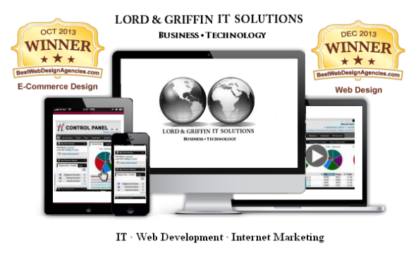 Lord & Griffin IT Solutions Web Awards
