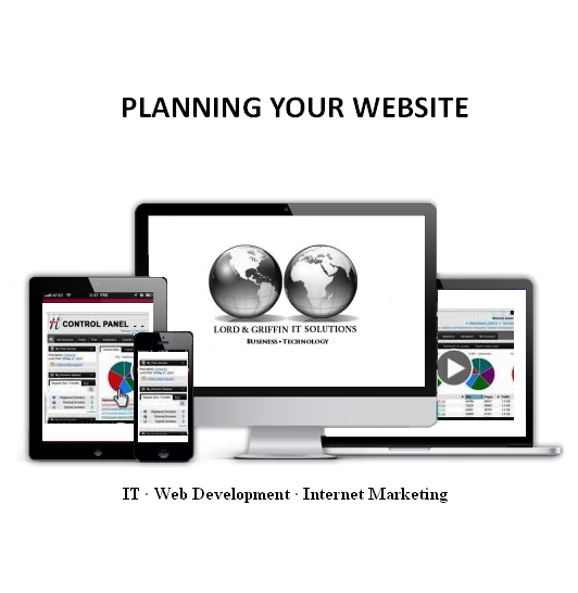 Lord & Griffin IT Solutions Web Design - Planning Your Website