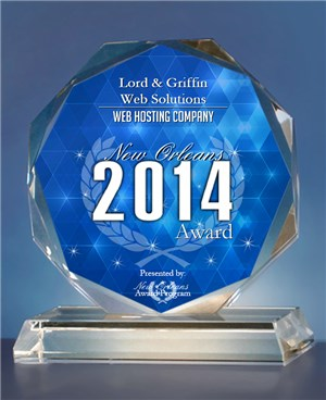 Lord & Griffin Web Solutions Receives 2014 New Orleans Award
